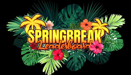 $50,000 Spring Break Leaderboard