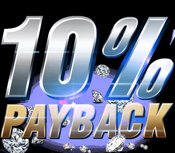 10% PayBack Bonus Guaranteed