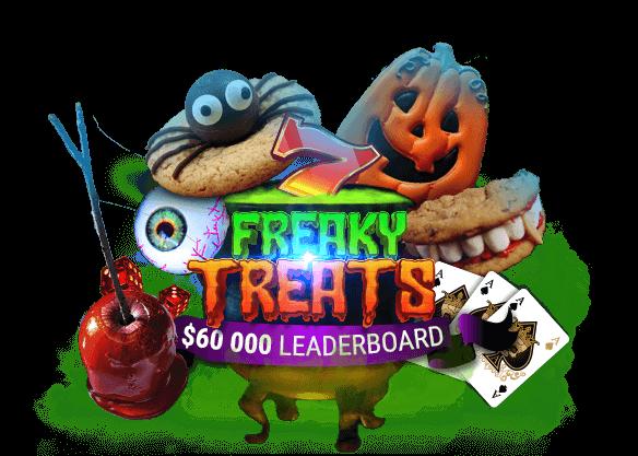 $60,000 Freaky Treats Leaderboard